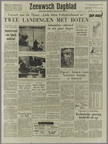 Zeeuwsch Dagblad 1962-08-11