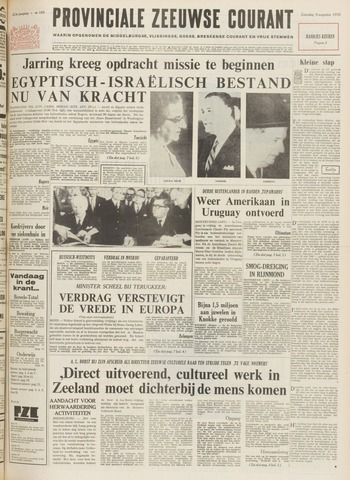 Provinciale Zeeuwse Courant 1970-08-08