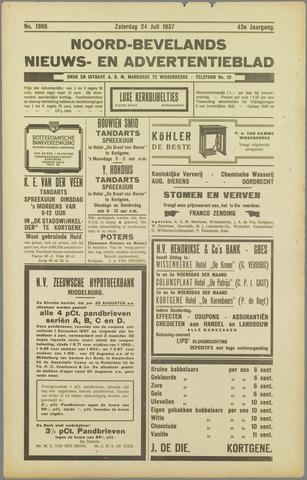 Noord-Bevelands Nieuws- en advertentieblad 1937-07-24