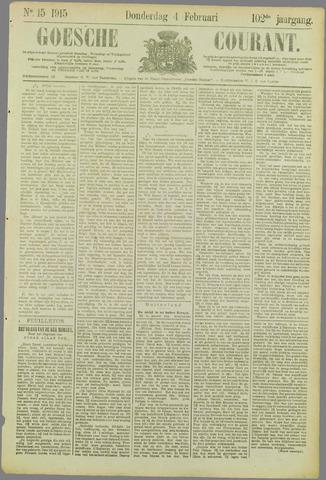 Goessche Courant 1915-02-04
