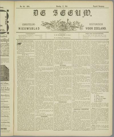 De Zeeuw. Christelijk-historisch nieuwsblad voor Zeeland 1895-07-09