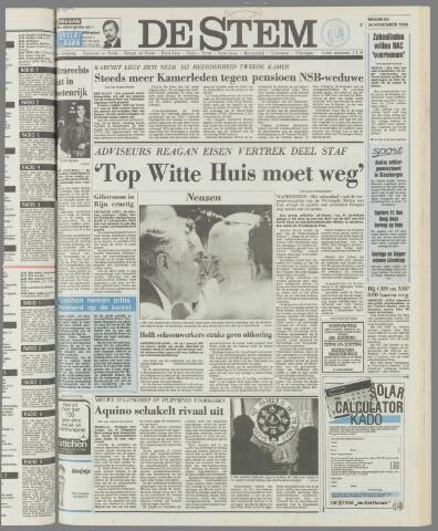de Stem 1986-11-24