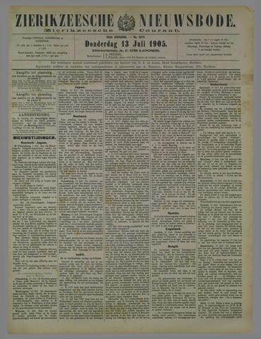 Zierikzeesche Nieuwsbode 1905-07-23