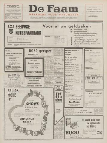 de Faam en de Faam/de Vlissinger 1971-02-18