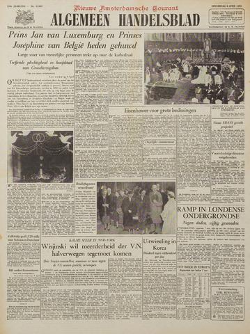 Watersnood documentatie 1953 - kranten 1953-04-09