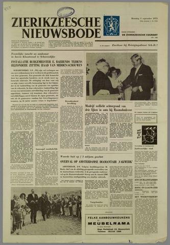 Zierikzeesche Nieuwsbode 1973-09-03