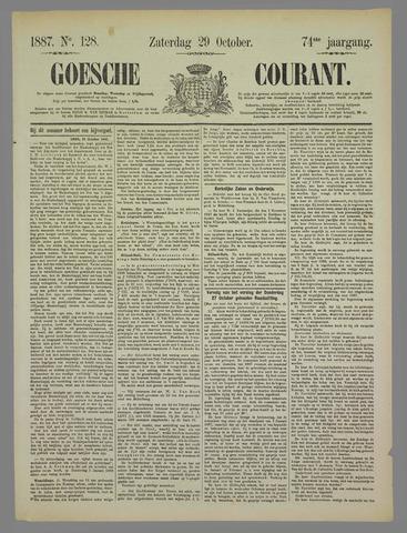 Goessche Courant 1887-10-29