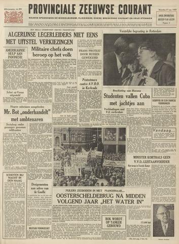Provinciale Zeeuwse Courant 1962-08-27