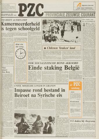 Provinciale Zeeuwse Courant 1983-09-24