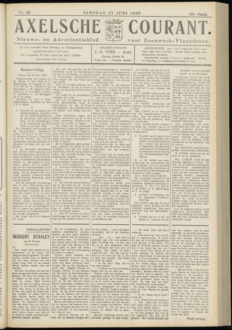 Axelsche Courant 1939-06-27