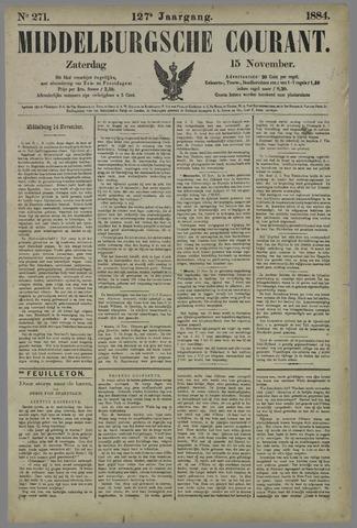 Middelburgsche Courant 1884-11-15
