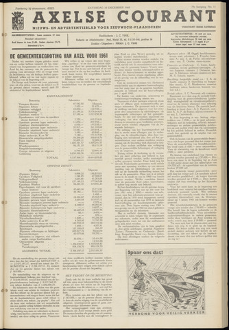 Axelsche Courant 1960-12-10