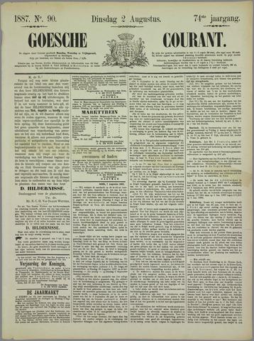 Goessche Courant 1887-08-02