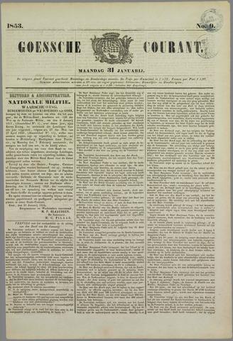 Goessche Courant 1853-01-31