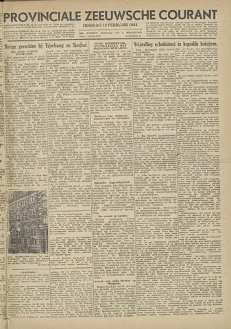 Provinciale Zeeuwse Courant 1944-02-15