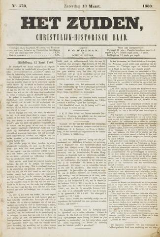 Het Zuiden, Christelijk-historisch blad 1880-03-13