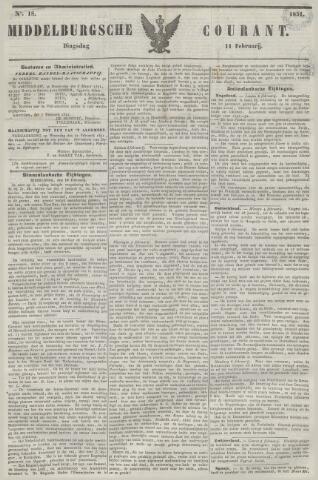 Middelburgsche Courant 1851-02-11