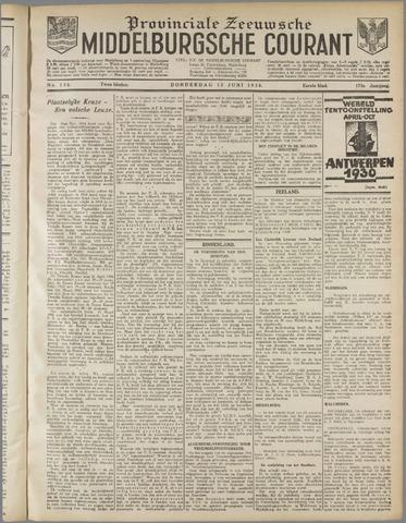 Middelburgsche Courant 1930-06-12