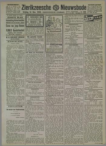 Zierikzeesche Nieuwsbode 1930-11-14