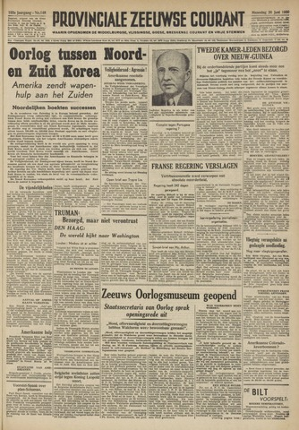 Provinciale Zeeuwse Courant 1950-06-26