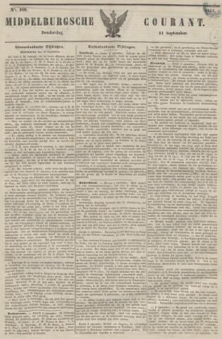 Middelburgsche Courant 1851-09-11