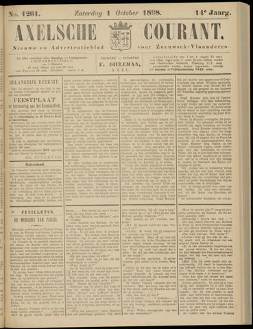 Axelsche Courant 1898-10-01