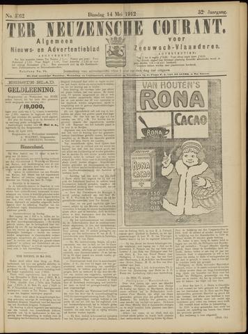 Ter Neuzensche Courant. Algemeen Nieuws- en Advertentieblad voor Zeeuwsch-Vlaanderen / Neuzensche Courant ... (idem) / (Algemeen) nieuws en advertentieblad voor Zeeuwsch-Vlaanderen 1912-05-14