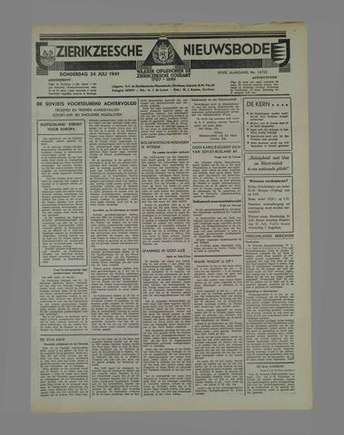 Zierikzeesche Nieuwsbode 1941-07-30