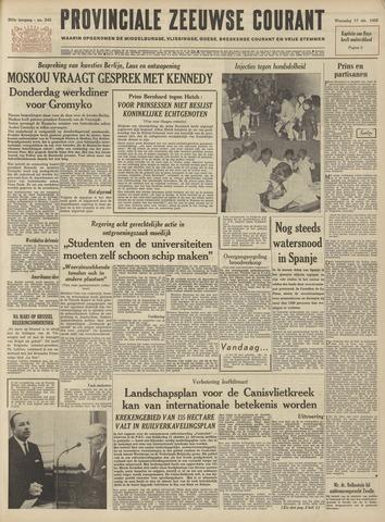 Provinciale Zeeuwse Courant 1962-10-17