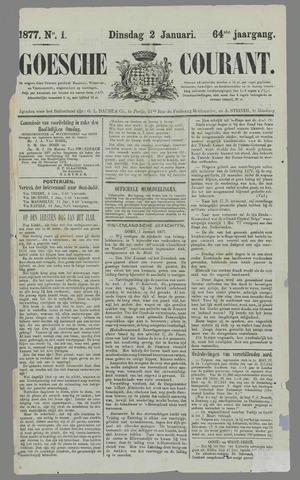 Goessche Courant 1877