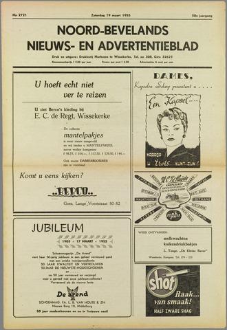 Noord-Bevelands Nieuws- en advertentieblad 1955-03-19