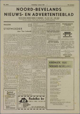 Noord-Bevelands Nieuws- en advertentieblad 1981
