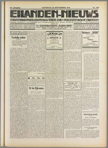 Eilanden-nieuws. Christelijk streekblad op gereformeerde grondslag 1940-09-28