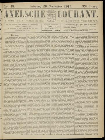 Axelsche Courant 1919-09-20