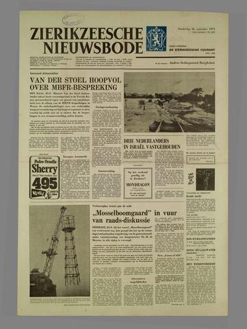 Zierikzeesche Nieuwsbode 1974-09-26