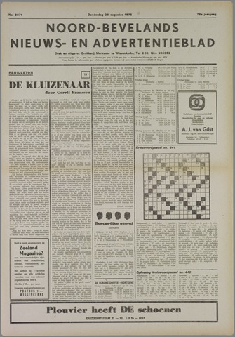 Noord-Bevelands Nieuws- en advertentieblad 1975-08-28
