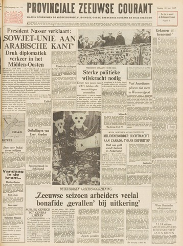 Provinciale Zeeuwse Courant 1967-05-30