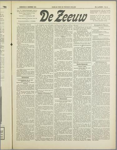 De Zeeuw. Christelijk-historisch nieuwsblad voor Zeeland 1934-12-06