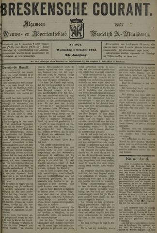 Breskensche Courant 1913-10-01
