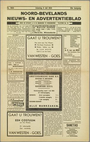 Noord-Bevelands Nieuws- en advertentieblad 1933-07-08