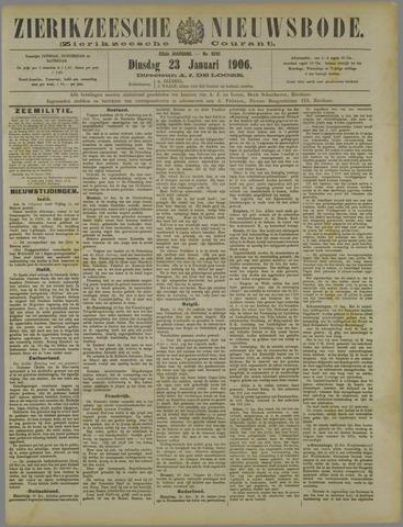 Zierikzeesche Nieuwsbode 1906-01-23