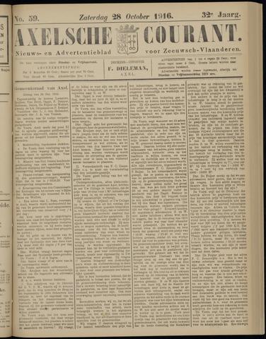 Axelsche Courant 1916-10-28