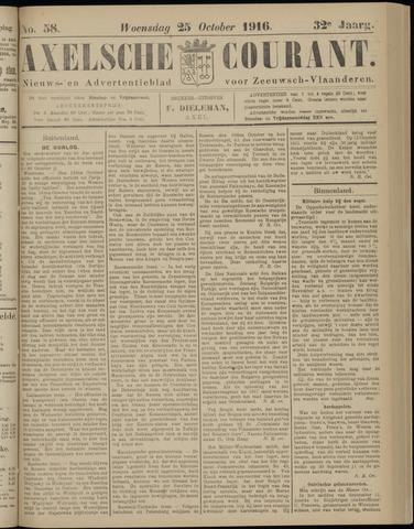 Axelsche Courant 1916-10-25
