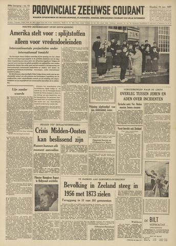 Provinciale Zeeuwse Courant 1957-01-15