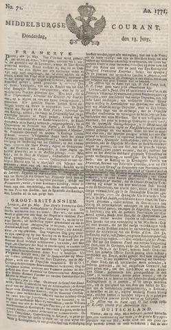 Middelburgsche Courant 1771-06-13