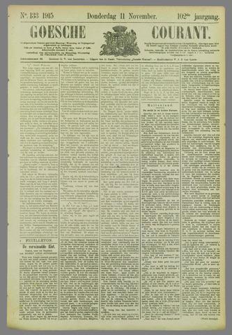 Goessche Courant 1915-11-11