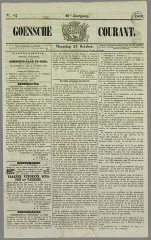 Goessche Courant 1859-10-24