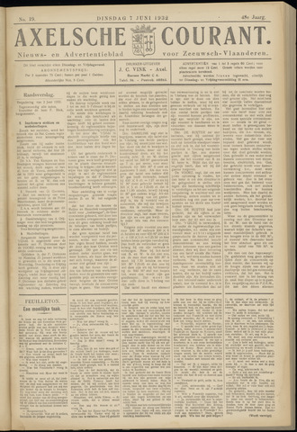 Axelsche Courant 1932-06-07
