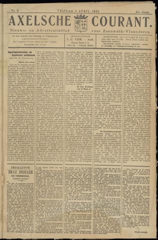 Axelsche Courant 1935-04-05