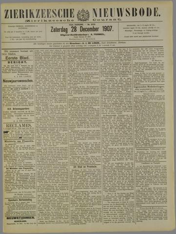 Zierikzeesche Nieuwsbode 1907-12-28
